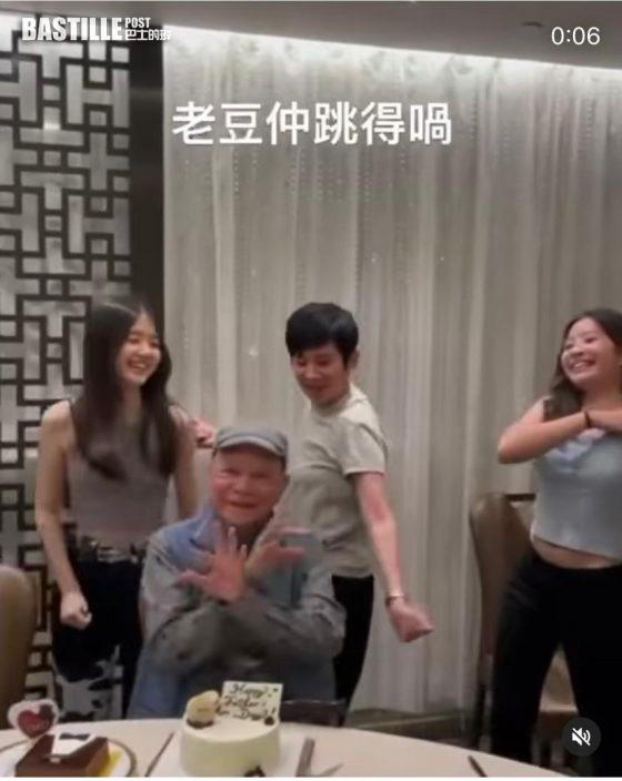【父親節】Edan爸爸撞樣家英哥 吳君如跳舞𠱁冬叔慶祝