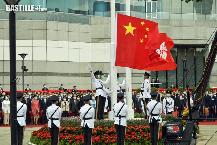 金紫荊廣場明起有改善工程 6.24恢復升旗儀式