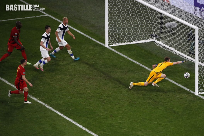 【歐國盃】比利時輕鬆攞「芬」 丹麥大勝神奇出線