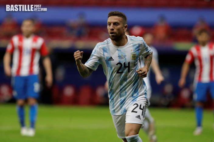 【美洲盃】阿根廷1:0巴拉圭 提早鎖定出綫