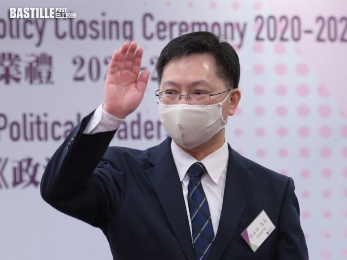 薛永恒指國家十四五規劃下 香港科創業機會處處