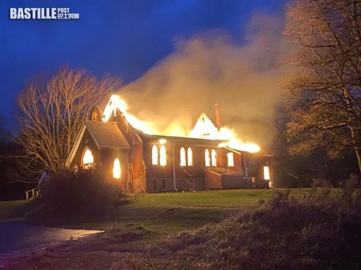 加拿大2座百年教堂發生大火 疑報復行為