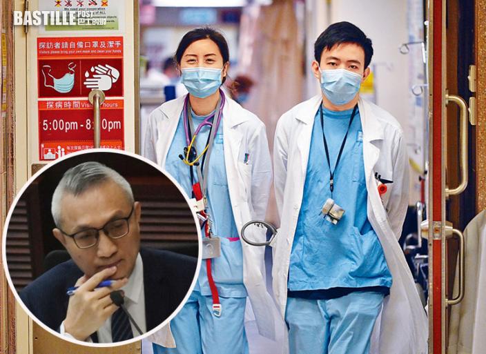 指本港2030年將缺1600名醫生 徐德義:須讓海外醫生獲執業資格