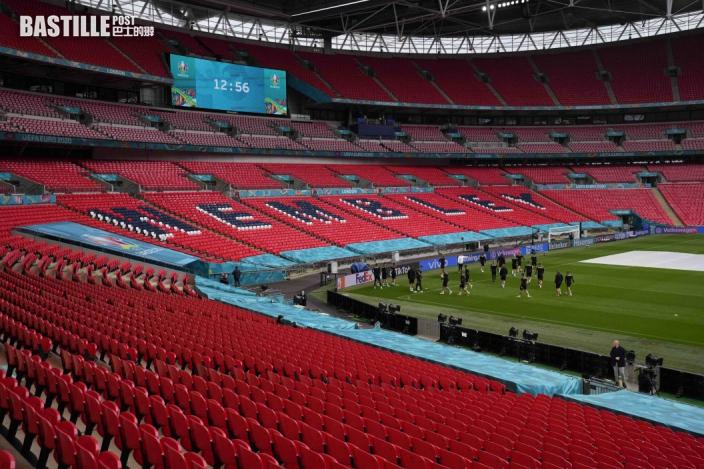 【歐國盃】溫布萊放寬入座數量 四強決賽可容納六萬人