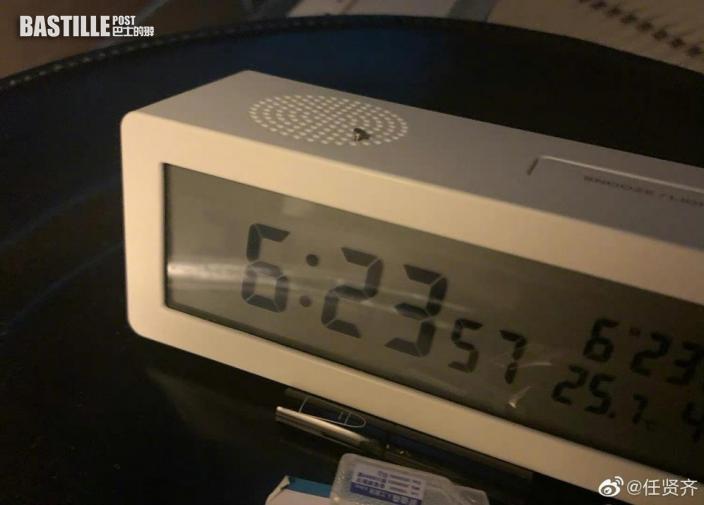 55歲生日照開工 任賢齊影「623」時鐘感嘆時間唔等人