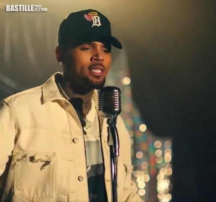 Chris Brown向女子施襲後逃走  被警方立案列嫌疑犯