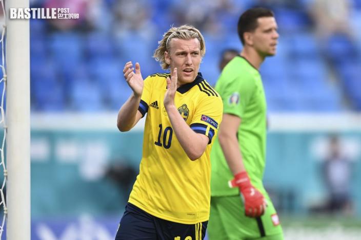 【歐國盃】狂牛神威大捷 瑞典首名晉級