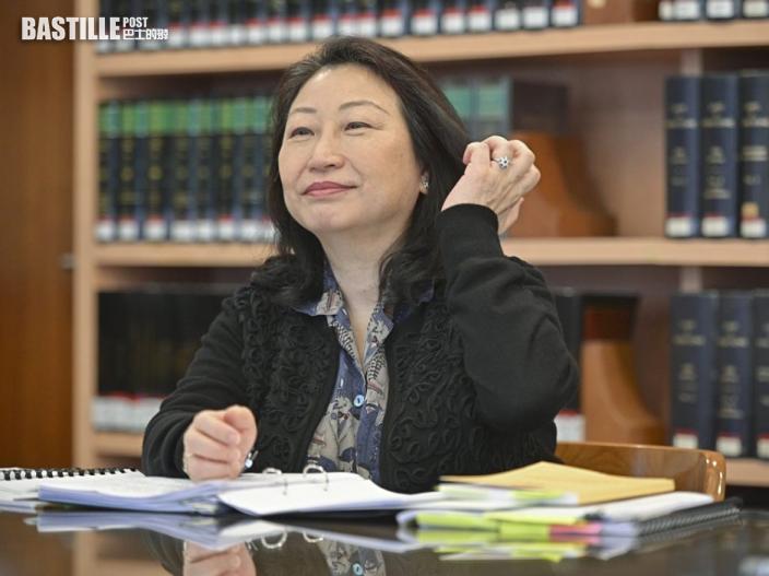 【專訪】鄭若驊指與14億人安全相比 個人受制裁不足道