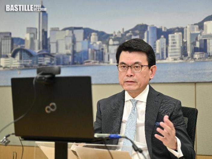 邱騰華指港府致力控疫情及推廣打疫苗 冀外商有信心投資