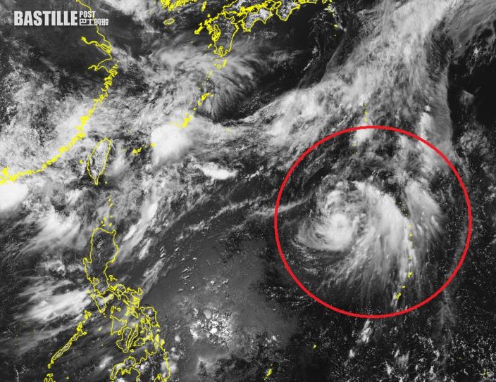 熱帶風暴「薔琵」料趨向日本 或迎來大雨