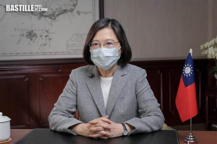 指《蘋果》與爭取民主自由港人同一陣線 蔡英文:台灣會一直撐港