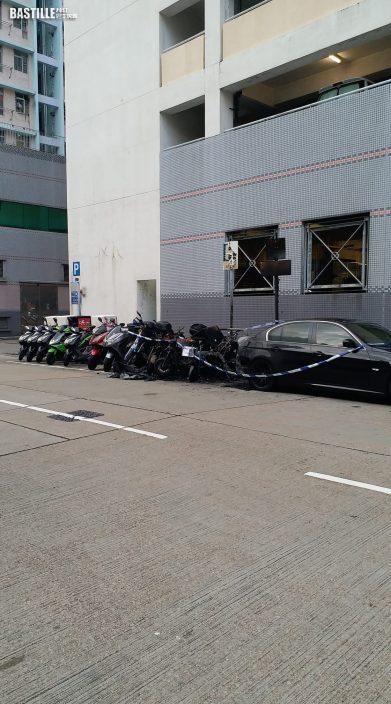 長沙灣幸祥街電單車遭縱火 波及另外6車