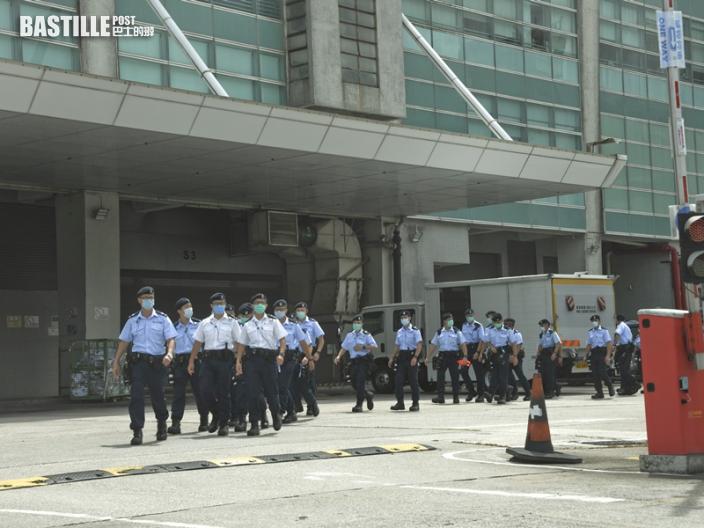 《蘋果》前副社長陳沛敏入稟向警追索搜查壹傳媒大樓造成的損失