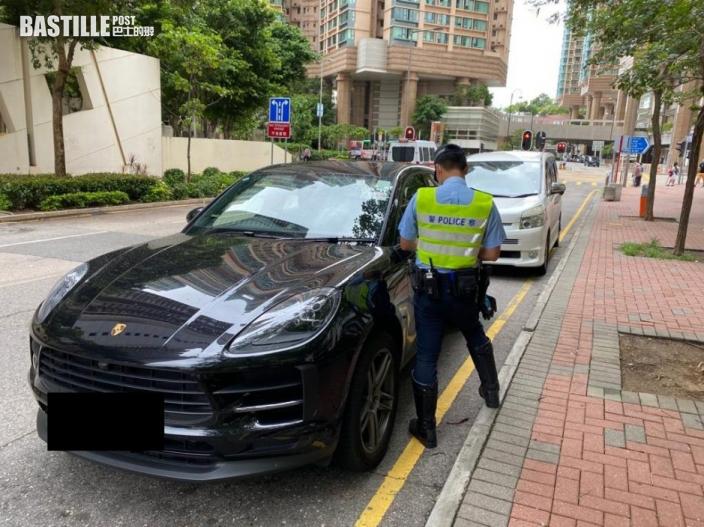西九龍警利用流動攝錄配合交通執法 發出4201張告票