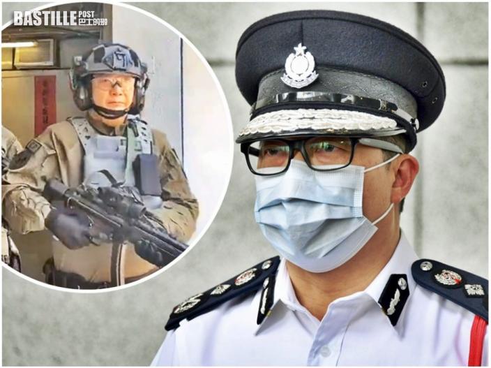 鄧炳強統領紀律部隊 向同袍話別:很享受做警察