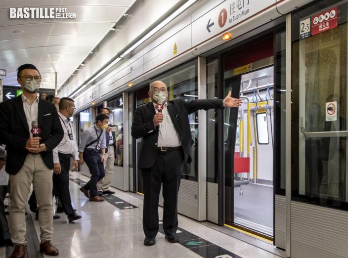 【有片.多圖】屯馬線全線通車 鐵路迷雀躍特別班爆滿