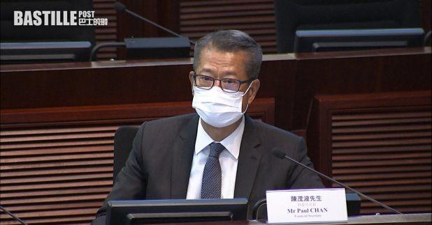 陳茂波︰電子消費券下月登記 本月下旬公布詳情