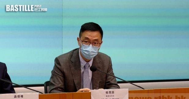 楊潤雄表示,學生對普通話及簡體字有一定的掌握,對他們未來發展是百利而無一害。(黎蕙珊攝)