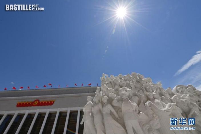 這是中國共產黨歷史展覽館(6月18日攝)。新華社記者 岳月偉 攝