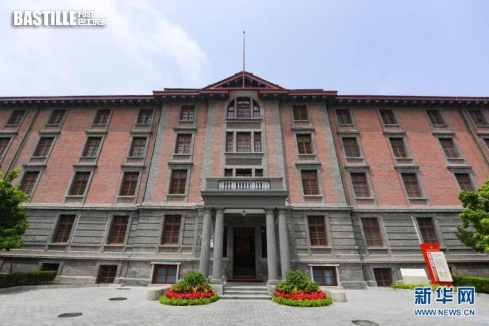 這是6月26日拍攝的修葺一新的北大紅樓。新華社記者 謝晗 攝