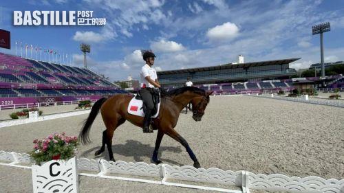 遺憾!中山籍馬術大滿貫騎手梁銳基退出東京奧運會
