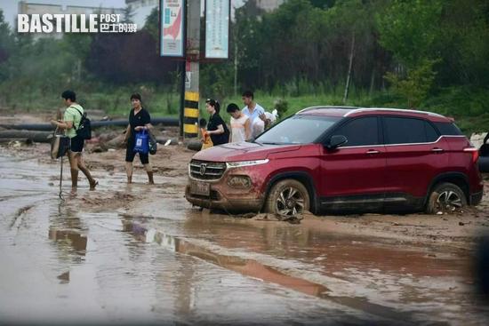 北京救援隊來了!多圖直擊河南鞏義受災現場
