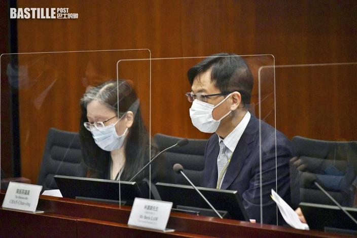 立會新查冊安排委員會 陳振英自動當選主席