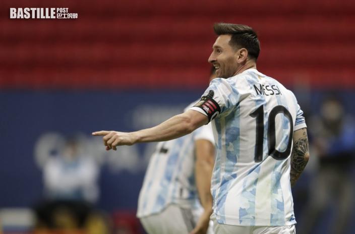 【美洲盃】阿根廷決戰巴西 美斯提隊友小心尼馬