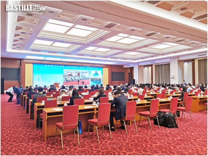 夏寶龍與政法委高官在北京出席港區國安法研討會
