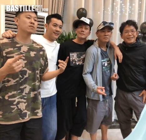 古惑仔3兄弟內地開工 謝天華陳小春齊慶54歲生日