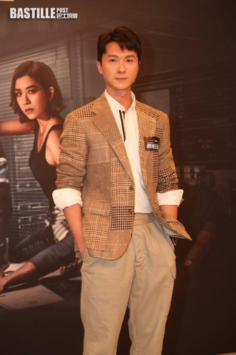 王浩信盼觀眾體諒《刑偵》改播放時間 戴祖儀多得紅姐逼出好戲