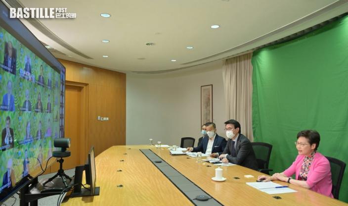 林鄭月娥指香港正與時間競賽建立疫苗屏障