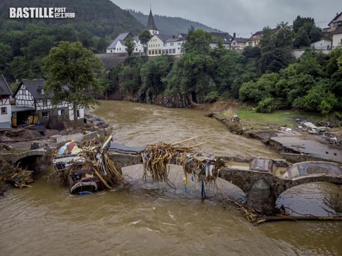 西歐水災滿目瘡痍 增至128人罹難