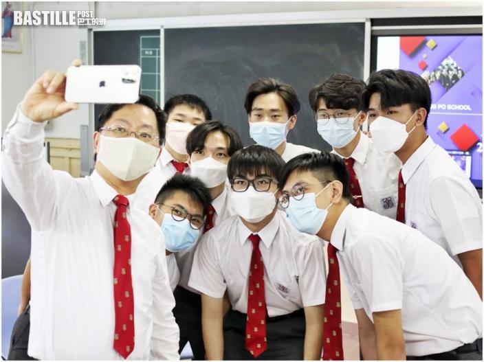 【DSE放榜】薛永恒回母校勉師弟:青年做科研不愁出路