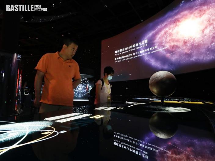 上海天文館今開幕展出「嫦娥五號」月壤 建築規模全球最大