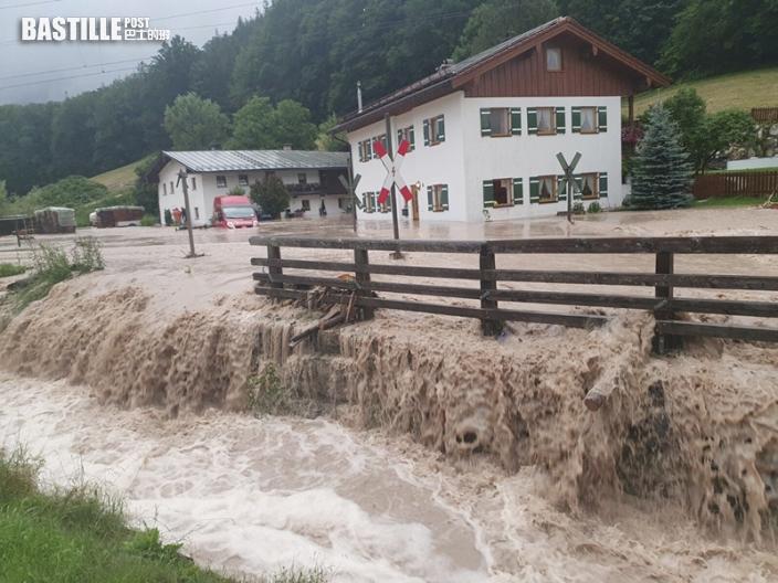 歐洲水災增至逾170死 數百人下落不明