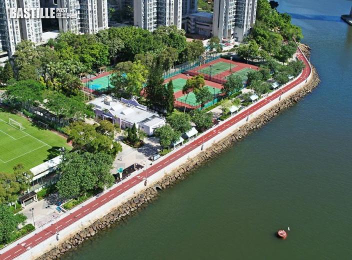 荃灣海濱段單車徑明起開放 可欣賞藍巴勒海峽景色