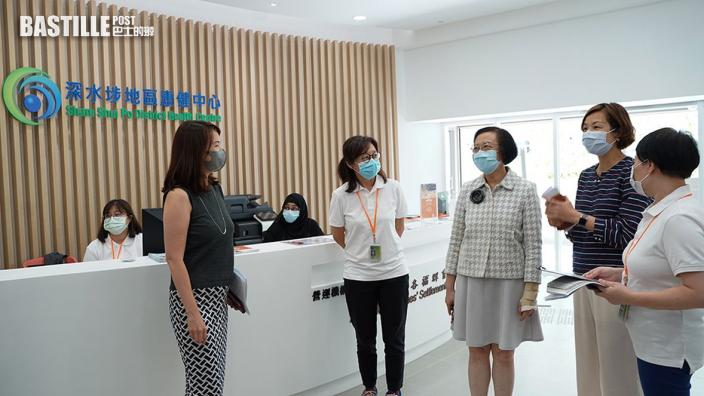 陳肇始料本屆政府多5區成立康健中心 11區設過渡性康健站