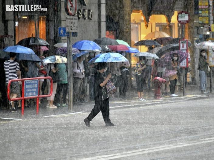 本周後期仍有驟雨 大暑短暫時間有陽光