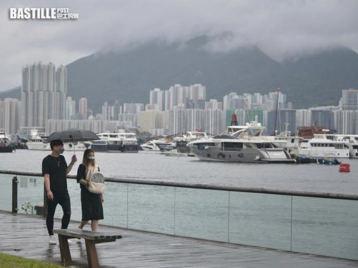 天文台指高達每小時70公里或以上的強陣風將吹襲香港