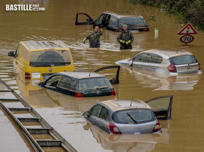 默克爾形容水災極其恐怖 承諾提供重建援助