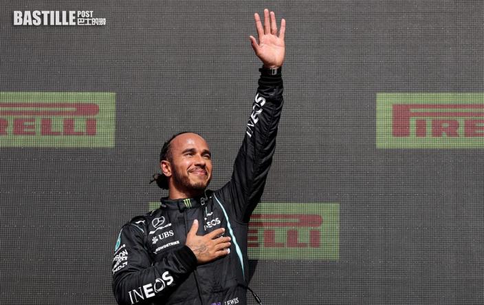 【F1】開賽即撞到韋斯塔潘退賽 咸美頓被罰十秒仍封王