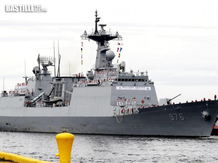南韓增1252宗確診 「文武大王」號驅逐艦247人染疫