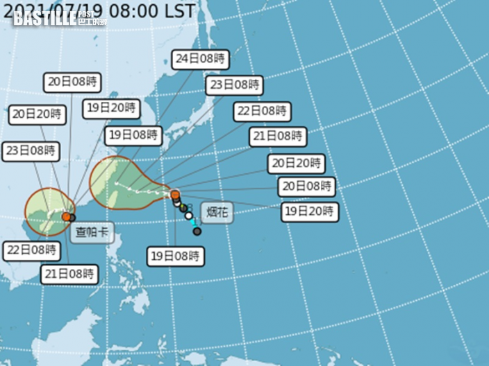 雙颱風左右夾擊台灣 氣象局密切監察「藤原效應」風險