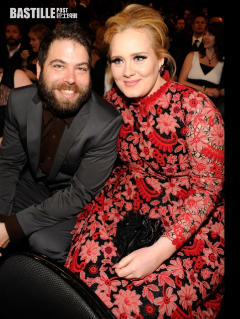 揻甩100磅肥肉 英國天后Adele 撻著NBA球星勒邦占士經理人