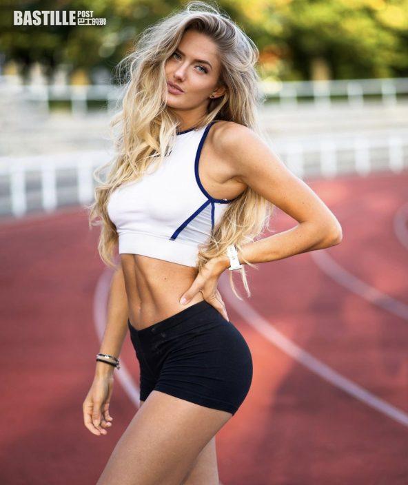 【東奧索女】德國田徑選手獲封「最性感運動員」    Alicia Schmidt噴血身材冇得輸
