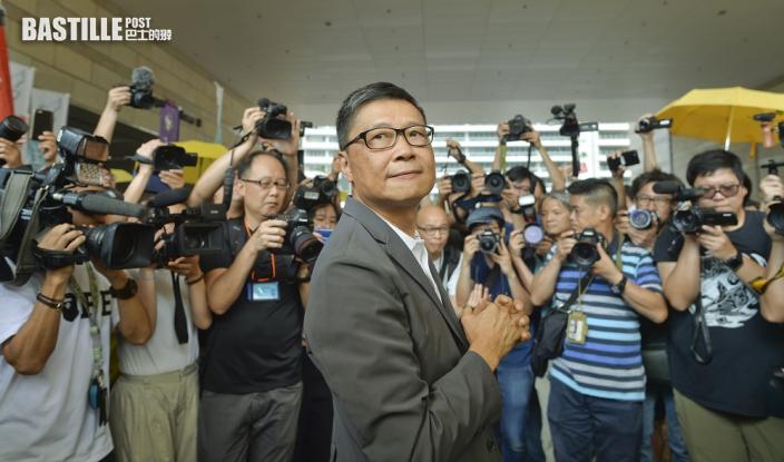「佔中」發起人陳健民抵台任訪問教授 冀一年後回港