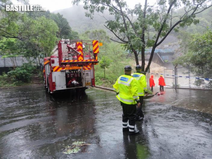 3號風球下男子馬鞍山英雄瀑行山 疑被洪水沖走失蹤