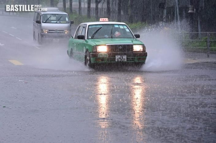 新界部分地區水浸擠塞 西貢區雨量超過70毫米