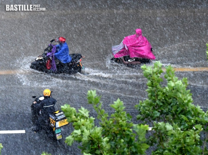 河南連日暴雨 鄭州降雨量達到一小時201.9毫米